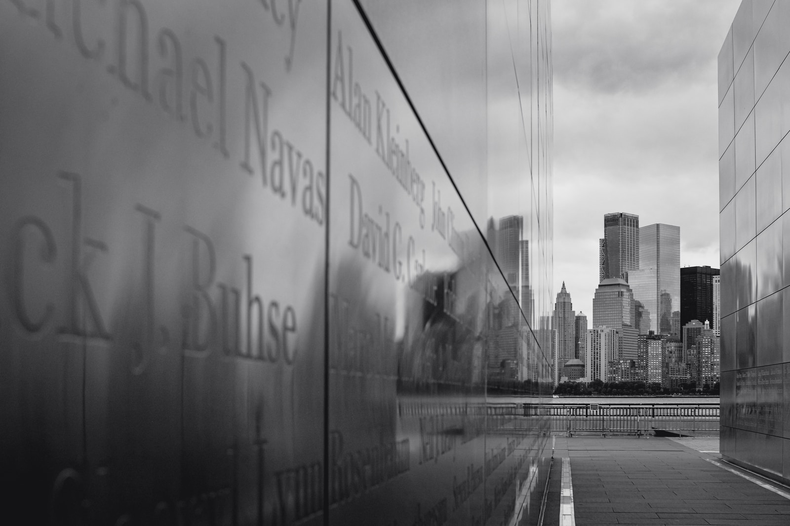 grayscale photo of city buildings